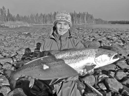 saumon,russie,peninsule de kola,pêche,mouche,flyfishing,kola,salmon